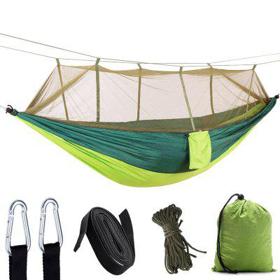 Ultra Light Nylon Outdoor Parachute Cloth Hammock with Mosquito Net