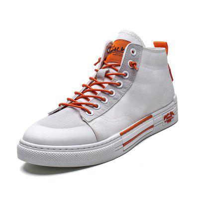 Sapatos Casuais Masculinos Fashion High-top
