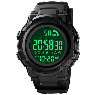 SKMEI 1501 Smart Men's Step Counter Electronic Watch Outdoor Sports APP / Bluetooth Call Reminder
