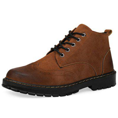 Men's Martin Boots Tooling Retro British Style Shoes