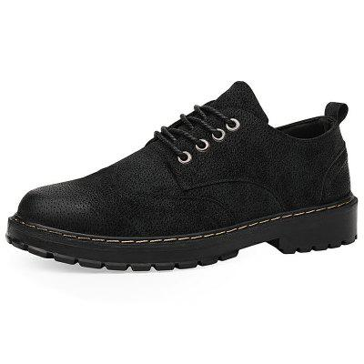 Men's Boots Low-cut Tool British Style Shoes