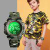 SKMEI Children's Watch Multi-function Outdoor Sports Digital Display - ARMY GREEN