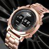 SKMEI 1531 Men Quartz Watch Steel Strip Business Fashion Roller Style - MULTI-E