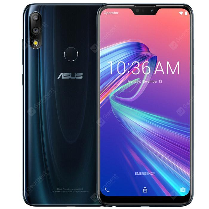 ASUS ZenFone Max Pro (M2) (ZB631KL) 4G Phablet Global Version - Deep Blue