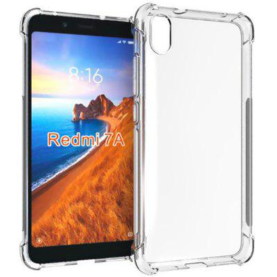AISLING Quatro-canto Air Bag Drop-proof Transparente Soft Phone Case para Xiaomi Redmi 7A