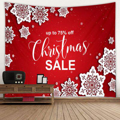 Shanghaojupin Christmas Festive Passion Polished Polyester Tapestry