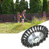 6 inch Grass Trimmer Head Trimming Weeding Machine Accessory - SILVER