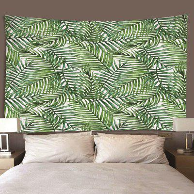 Polyester Fashion Leaf Print Tapestry for Living Room / Foyer / Bedroom