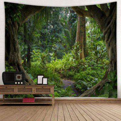 Deep Forest Country Style Print Pattern Tapestry