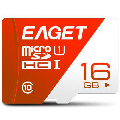 EAGET T1 UHS - I UHS - I Carte Mémoire Flash TF à Haute Vitesse