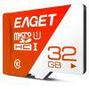 EAGET T1 High Speed UHS - I Flash TF Memory Card - RED