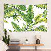 Creative Plant Leaf Print Polyester Tapestry for Living Room Foyer Bedroom - MULTI-A