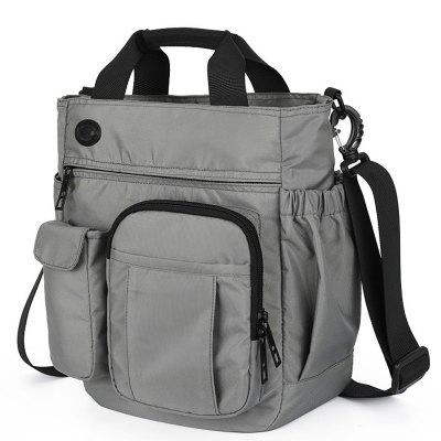 Business Casual homens Multi-função Storage Bag Moda Shoulder Bag Shoulder Bag