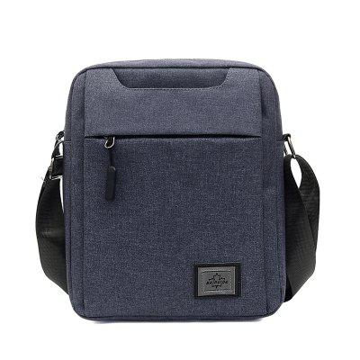 Men Messenger Bag Solid Color Business Casual Style
