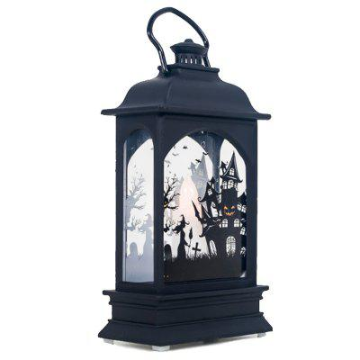 Halloween Subject LED Candle Transparent Wind Light