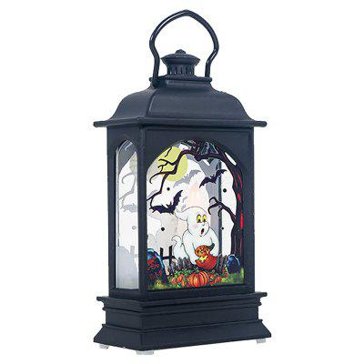 Halloween Subject LED Candle Transparent Light