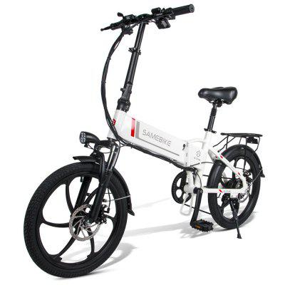 Samebike 20LVXD30 Smart Folding Electric Moped Bike E-bike Image