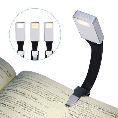 BRELONG 3 Mode Adjustment LED Reading Light with Clip