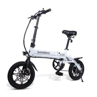 Samebike YINYU14 Smart Folding Bicycle Moped Electric Bike E-bike Image