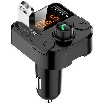 Car Music Player FM Transmitter Charger