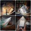 BRELONG 3 Mode Adjustment LED Reading Light with Clip - SILVER