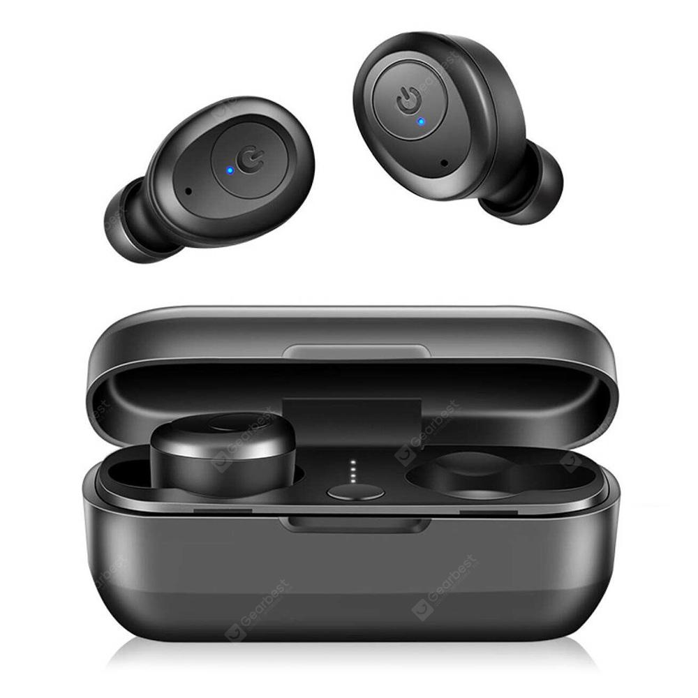 Bilikay T03 Bluetooth HiFi Stereo Earphone - Black