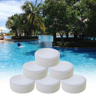 Swimming Pool Disinfection Effervescent Tablet Instant Dissolution 6pcs