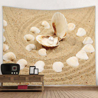 Digital Printing Shell + Pearl Tapestry Living Room Decorative Wall Covering