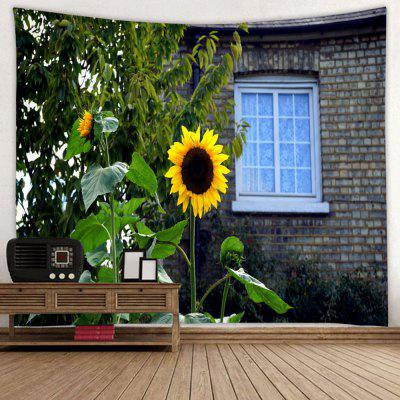 Sunflower Printed Tapestry
