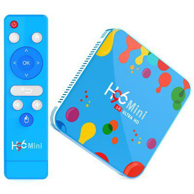 H96mini H6 Smart TV Box 4 GB RAM + 128 GB ROM