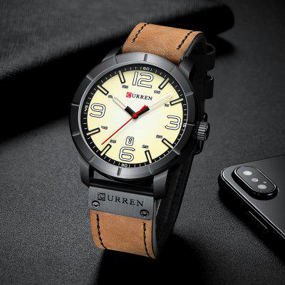 CURREN 8327 is the Retro Quartz Watch That You've Been Looking for So Long!
