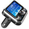 BC32 Car Hands-free FM Transmitter Bluetooth MP3 Player Dual USB Charger - BLACK