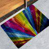 Fashion Colorful Rainbow Pattern Carpet - MULTI-A
