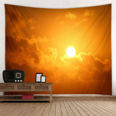 Beautiful Sunrise Flying Birds Printed Tapestry