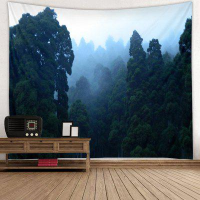 Jungle Fog Landscape Pattern Print Gobelin