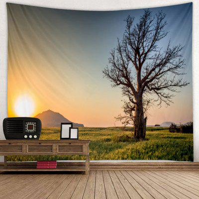 Peaceful Sunset Printed Tapestry