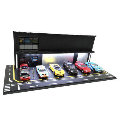 MCK640001A1 1/64 Estacionamento Display Car Modelo Scene Matching