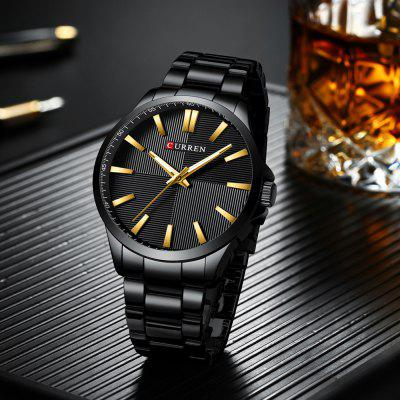 CURREN 8322 Orologio Casual da Uomo Fashion Business