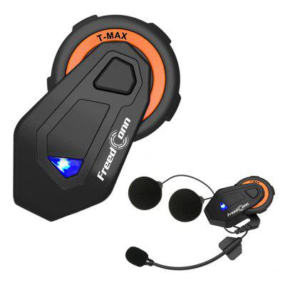 Gocomma Freedconn T - MAX Intercomunicador Bluetooth de Motocicleta