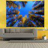 Blue Sky Woods Bushes Digital Printing Tapestry - MULTI-A