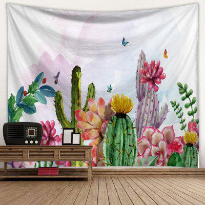 Cactus 3D Creative Bohemian Home Wall Decor Tapestry