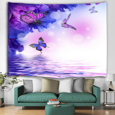 Flying Butterfly Printed Tapestry