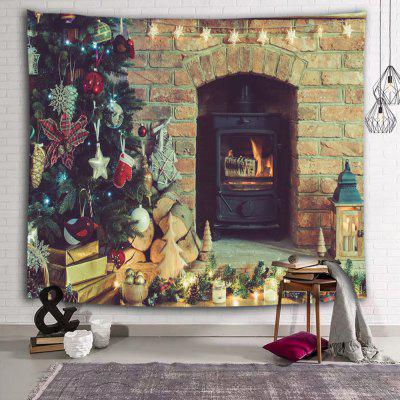 Burning Stove Decorative Printed Polyester Sanding Tapestry