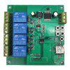 LC APP Remote Control Four-way WiFi Switched DC Motor Forward / Reverse Controller 5-30V - MULTI-A