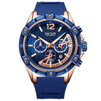 MEGIR 2083G Men's Watch Sports Multifunction Calendar Waterproof Quartz