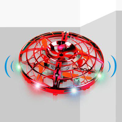 UFO Sensor Aircraft Kids Toy Gesture Induction Gyro Flying Saucer