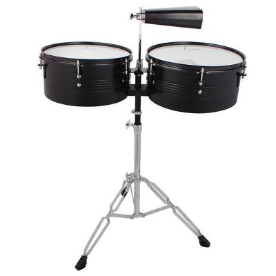 SLADE Timbar Drum Latin Percussion Instrument with 2 Maple Sticks