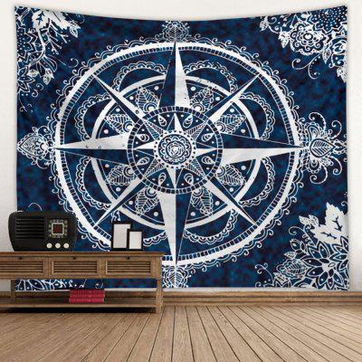 3D Digital Printing Compass Creative Home Art Wall Decoration Tapestry