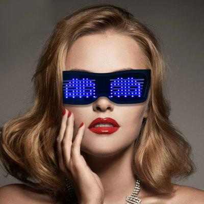 LED Louver Dynamic Bluetooth Gafas coloridas Dispositivos para fiestas