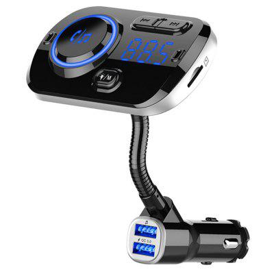 BC49 QC 3.0 Intelligent Fast Charger Car Bluetooth MP3